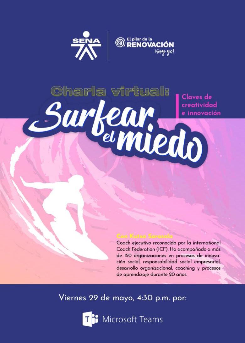Surfeando el miedo, claves creativas y de innovación